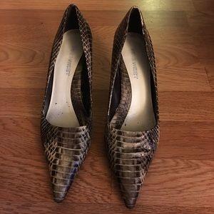 """2"""" Faux Snake Skin Heels"""